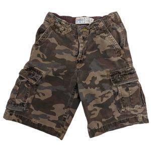 The Children's Place Boys Camo Cargo Shorts Size 8